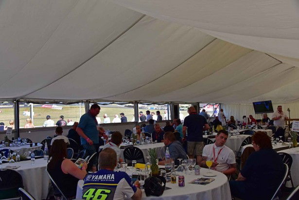 Knockhill Hospitality Marquee
