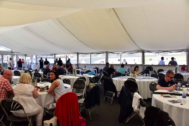 Knockhill Hospitality Marquee1