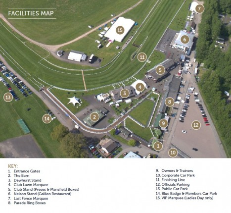 Perth Racecourse Aerial Map